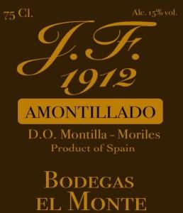 Amontillado Label