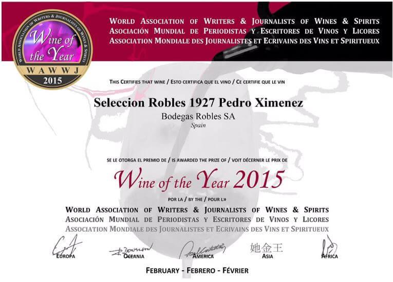 Robles Award